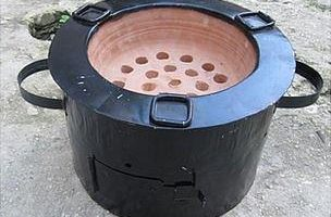 Institutional Charcoal Stoves